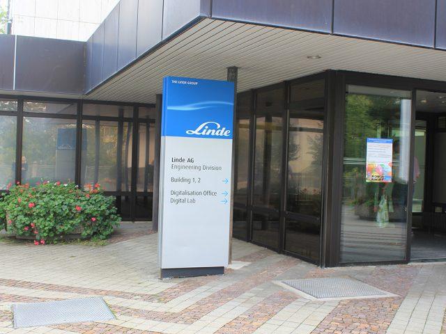 Zu Besuch bei der Linde AG in München