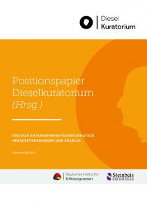 """Industrierat Zukunft veröffentlicht Vertiefungen zum Positionspapier """"Digitale Unternehmenstransformation"""""""