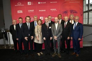Rudolf-Diesel-Medaillenträger gratulieren den Nominierten für die Ruldof-Diesel-Medaille 2020