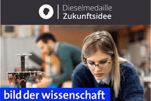 Dieselmedaille für die beste Zukunftsidee: Open Innovation Wettbewerb im Mittelstand – Recruiting für den MINT-Nachwuchs