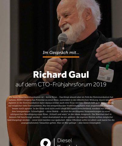 Im Gespräch mit Richad Gaul über Krisenkommunikation