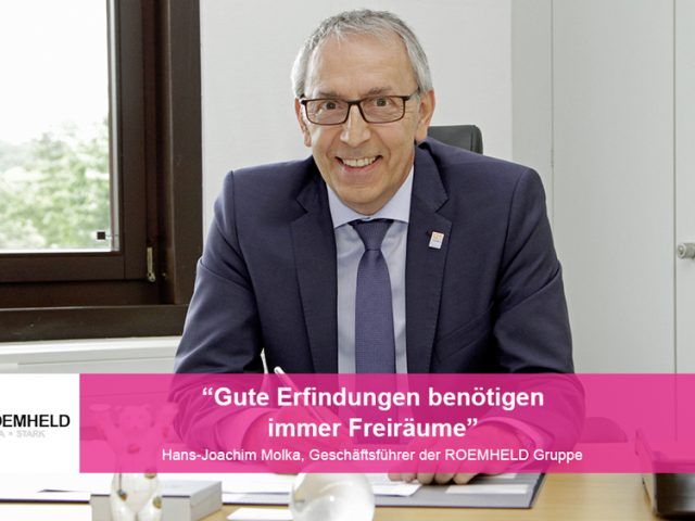Im Gespräch mit… Hans-Joachim Molka, Geschäftsführer der ROEMHELD Gruppe und Dieselkuratoriumsmitglied