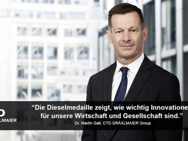 Im Gespräch mit… Dr. Martin Gall, CTO der DRÄXLMAIER Group und Dieselkuratoriumsmitglied