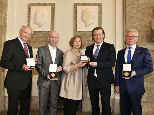 Rudolf-Diesel-Medaillenträger gratulieren den Nominierten für die Rudolf-Diesel-Medaille 2020