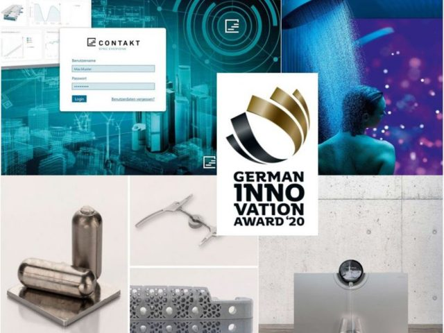 Vier German Innovation Awards für IP-Design-Studien in 2020